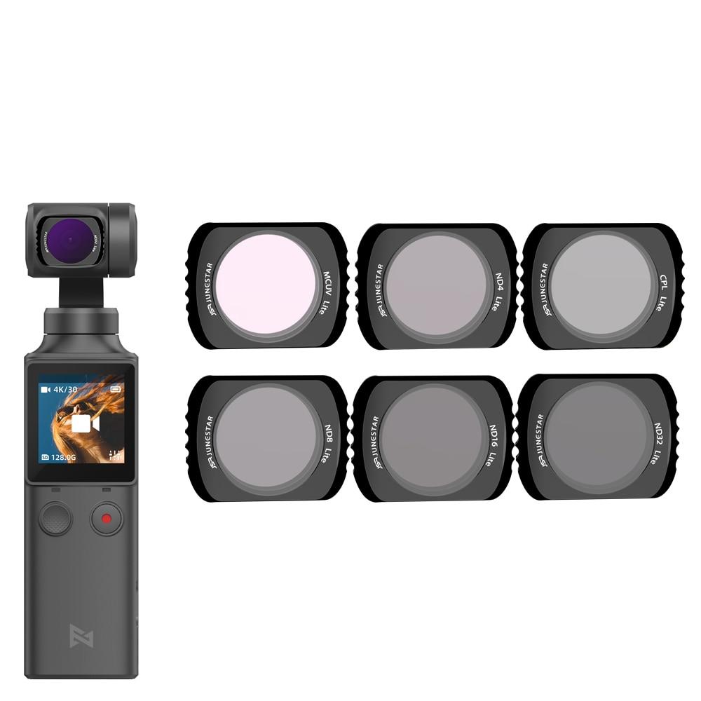 For Xiaomi FIMI Palm Gimbal Filter Neutral Density Polar Accessories Star/Night/NDPL/UV/CPL Filters Set For Xiao Mi FI MI Palm