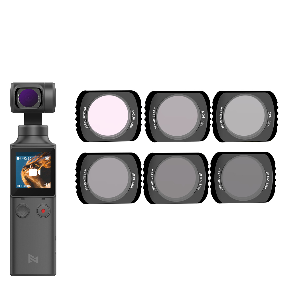 Para Xiaomi FI mi Palm cardán filtro de densidad neutra Polar accesorios estrella/noche/NDPL/UV/CPL filtros fijado para Xiao mi FI mi Palm