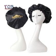 Headband Sleeping-Bonnet Virgin-Hair Custom-Logo Extentions-Wig-Hairs Tie-Caring Sleep-Caps
