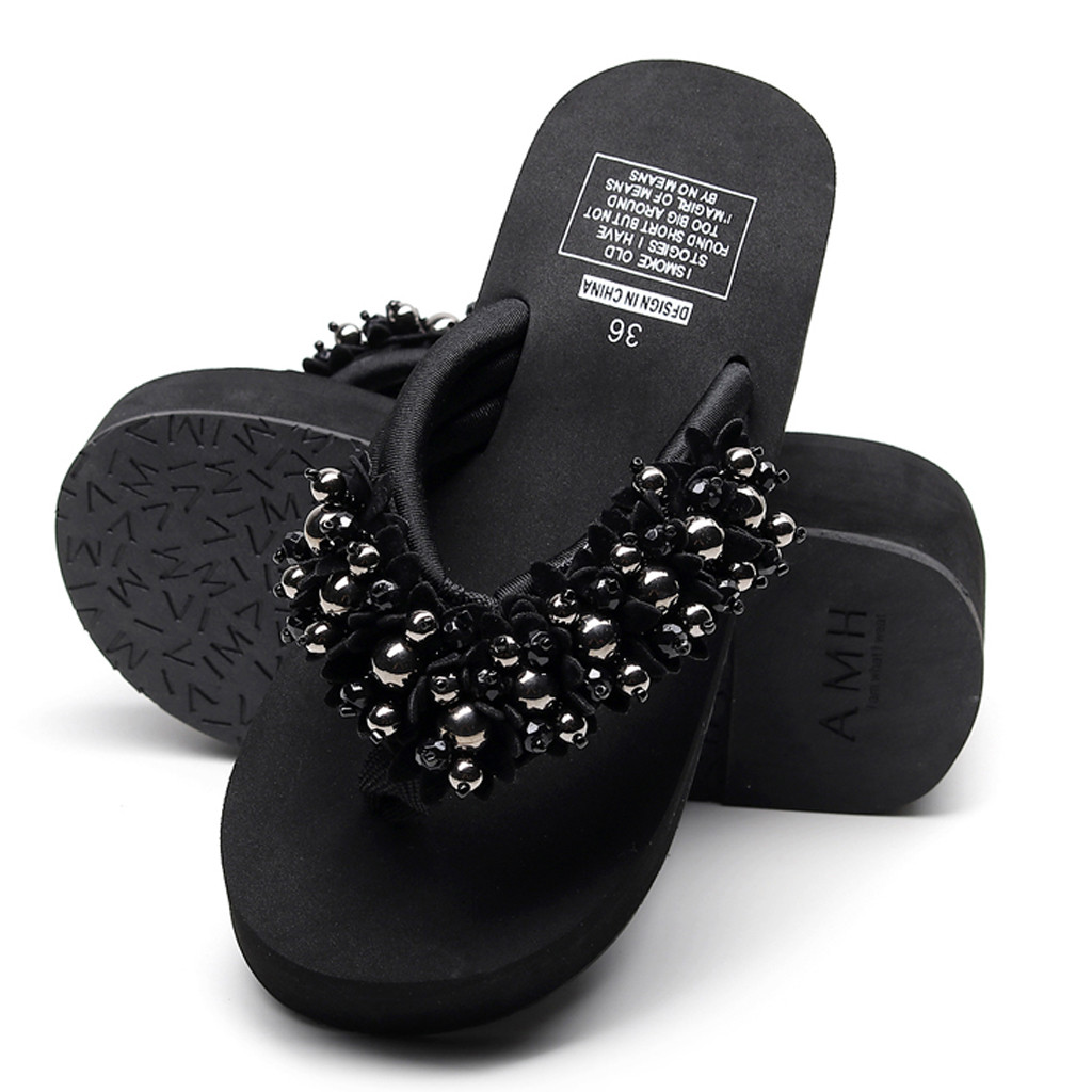 Couple Slipper Medical Capsule Print Flip Flops Unisex Chic Sandals Rubber Non-Slip House Thong Slippers