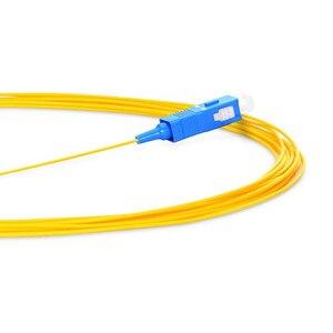 Image 5 - 100 sztuk 50 sztuk SC/UPC 1M 1.5M jednomodowy światłowód Pigtail 9/125 optyczny pigtail światłowodowy 0.9mm