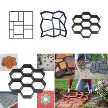 Manually Paving Cement Brick Concrete Molds DIY Plastic Path
