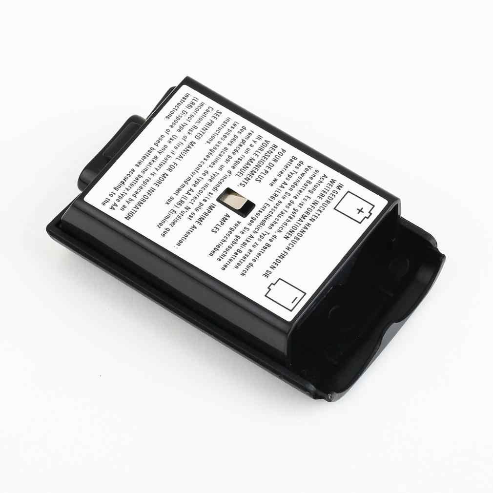 ل Xbox 360 بطارية حزمة غطاء شل درع حقيبة أدوات ل Xbox 360 وحدة تحكم لاسلكية شحن مجاني/قطرة