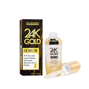 Image 5 - Neutriherbs 24 K Gold Serum Gesicht Serum mit hyaluronsäure Pflege Essenz Befeuchten und Aufhellung Haut