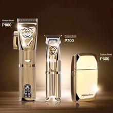 Barber-Accessories Hair-Trimmer Electric-Clipper Professional Men Golden