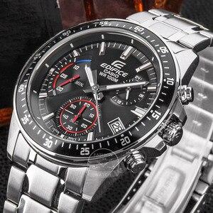 Image 3 - Casio watch Edifice watch men top luxury set quartz 100m Waterproof Chronograph men watch Sport military Watch relogio masculino