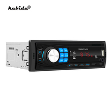Kebidu 12V autoradio 1 Din Bluetooth vivavoce Car Stereo lettore MP3 supporto In dash FM Mp3 USB WMA AUX nel lettore auto