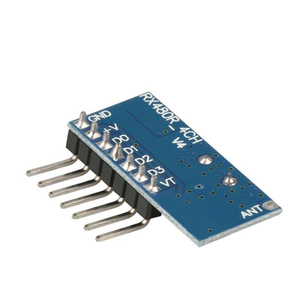 Image 2 - Rubrum decodificador de código de aprendizaje 433Mhz, 4CH RF, 4 botones, interruptor de Control remoto para Arduino Uno, módulo Smart Home