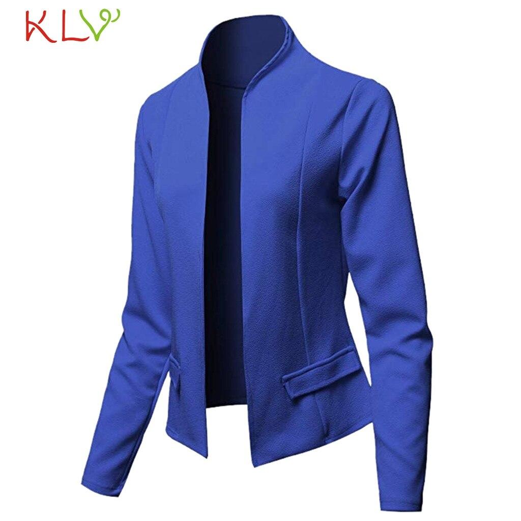 Plus Size Womens Slim OL Suit Casual Blazer Jacket Coat Tops 3//4 Sleeve Cardigan