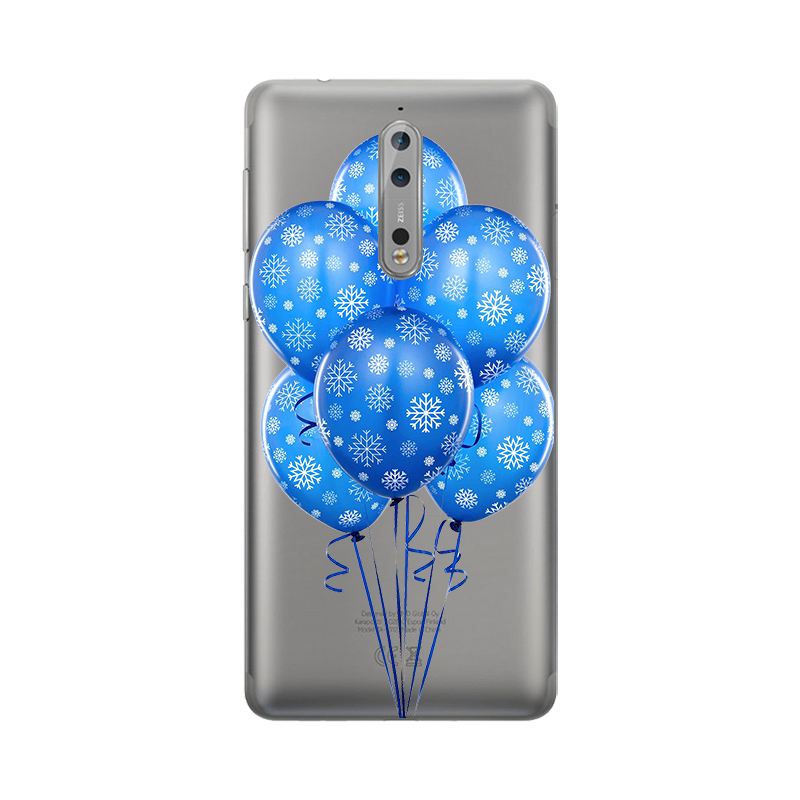 עבור נוקיה 1 2 2.1 3 3.1 5 5.1 6 2018 7 בתוספת 8 9X6 2018 טלפון מקרה ברור צבוע פרחים רך Tpu חזרה כיסוי Coque קאפה Fundas