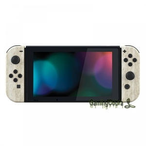 Image 5 - Pine Wood Grain Controller Housing with Full Set Buttons DIY Replacement Shell Case for NS JoyCon   CS208