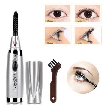 New Mini Electric Heated Eyelash Curler Wimperkruller Electric Heated Makeup Eye Lashes Long Lasting Beauty for Beauty Gift