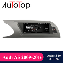Multimedia-Player Bluetooth Android 10.0 Audi A5 Navi Auto-Radio for Car 2009 2G GPS