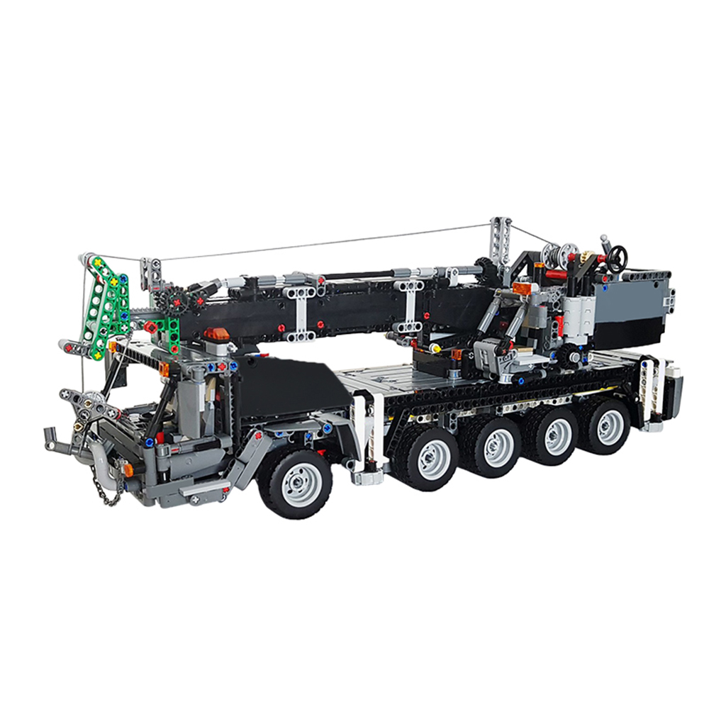 MOC-40985 Control Technic Car Compatible With technic <font><b>42009</b></font> Mobile Crane MK II Set Christmas Toys For Children Building Blocks image