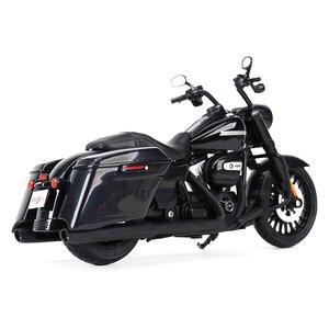 Image 5 - Maisto 1:12 2017 Road King Speclal döküm araçları koleksiyon hobiler motosiklet Model oyuncaklar