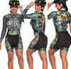 2020 pro equipe triathlon terno feminino camisa de ciclismo skinsuit macacão maillot ciclismo ropa ciclismo manga longa conjunto gel 14