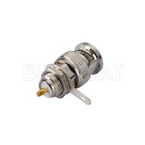 Image 1 - Superbat 10pcs BNC Connector Front Mount Plug Male Bulkhead with Solder Cup