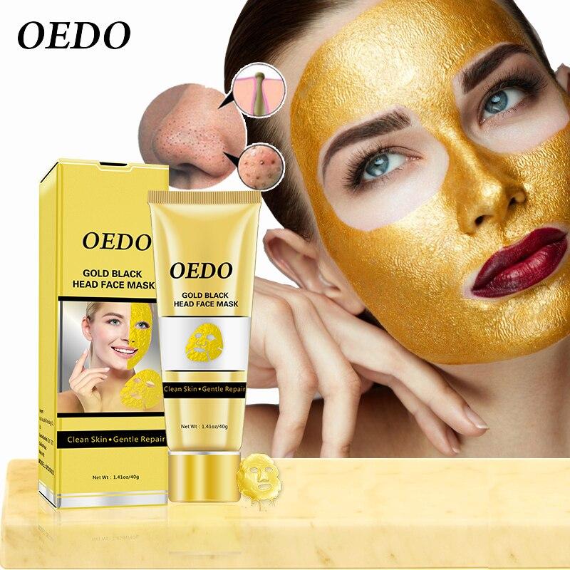 OEDO Gold Entfernen Mitesser Maske Schrumpfen Poren Verbessern Raue Haut Akne Shills Mitesser Entferner Maske Gesichts Feuchtigkeits Creme