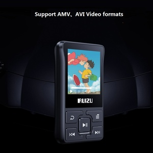Image 3 - أحدث مشغل Ruizu X55 رياضي مزود بالبلوتوث ومشغل MP3 مشبك صغير محمول سعة 8 جيجابايت مشغل موسيقى MP3 يدعم FM وتسجيل وكتاب إلكتروني وساعة وعداد خطي