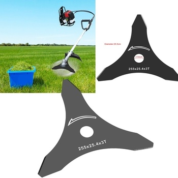 10 3 Teeth Brush Cutter Trimmer Blade for Various Types of Grass