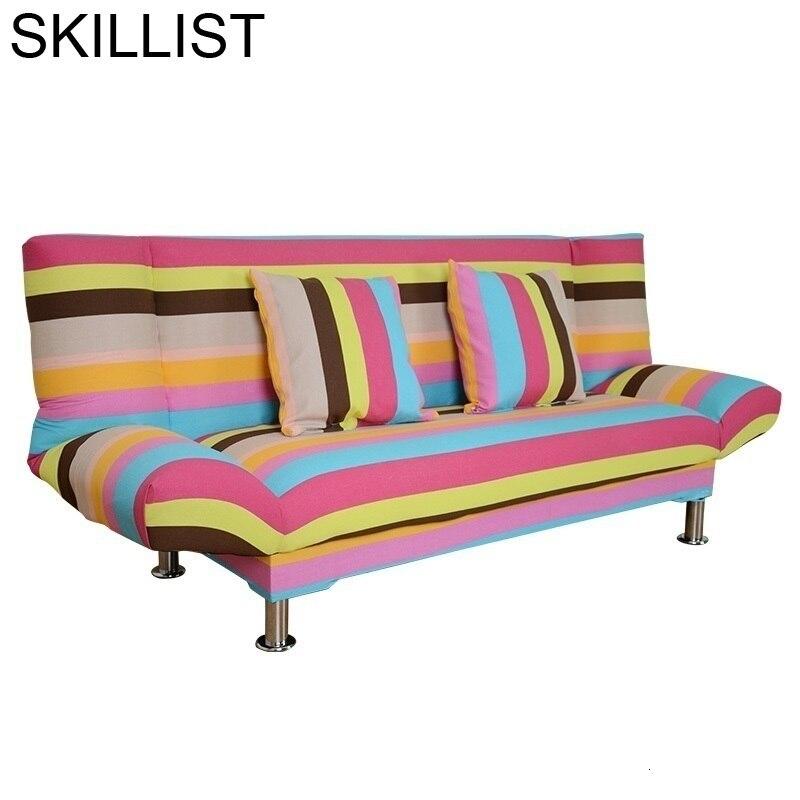Pouf Moderne Meubel pliant Koltuk Takimi sectionnel bouffée Mobili Cama Plegable ensemble salon meubles mobiles canapé lit