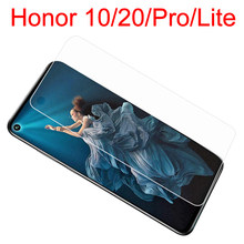 Honor20 protective glass on for huawei Honor 20 pro 10 light lite honer 10lite 20pro sheet screen protector armor tempered glas(China)