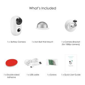 Image 5 - ZOSI WiFi 카메라 충전식 배터리 전원 1080P 풀 HD 야외 실내 IP65 비바람에 견디는 보안 무선 IP 카메라