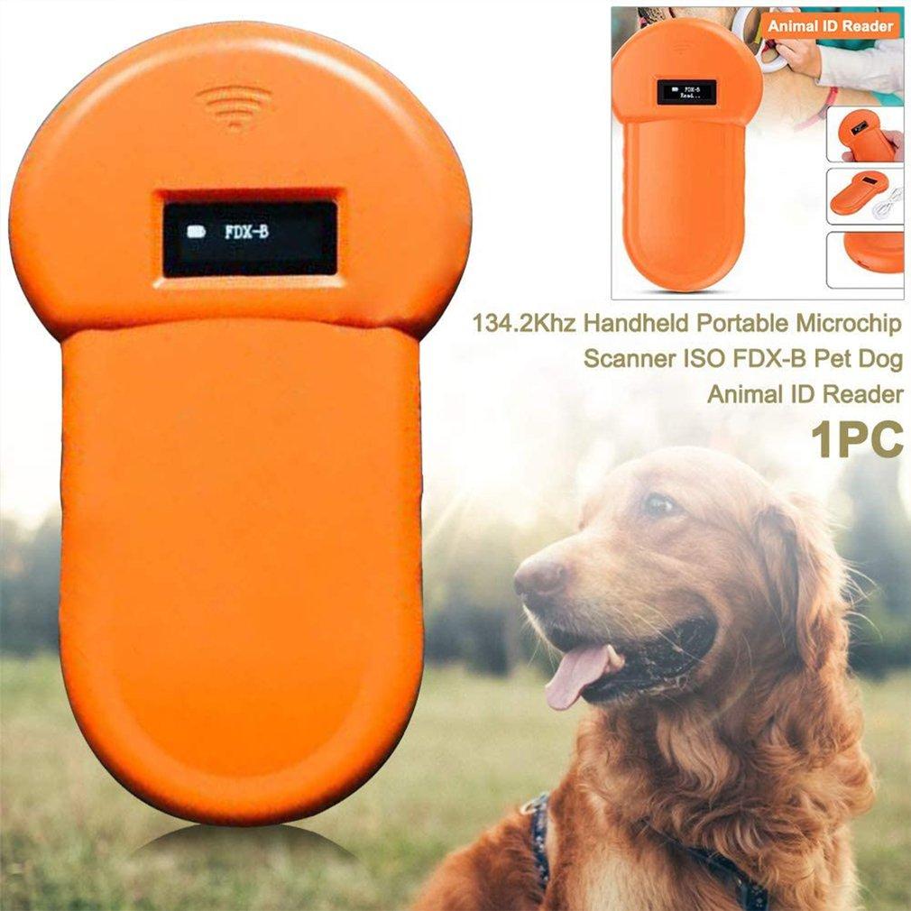 Animal Chip Scanner Digital Pet Scanner For Dogs Cats Horse LED Pet ID Reader Chip Transponder Microchip Scanner Pet Supplies