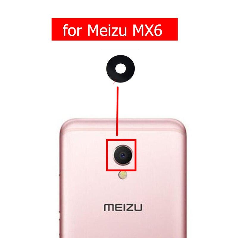 2 шт. для Meizu MX6 Камера Стекло объектив задней Камера объектив с помощью клейкой ленты 3м для Meizu MX6 замена запасных Запчасти