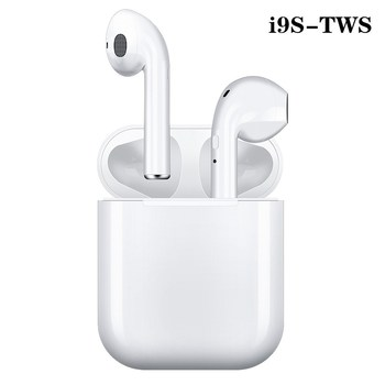 i9s Tws Headphone Wireless Bluetooth 5.0 Earphone Mini Earbuds With Mic Charging Box Sport Headset For Smart Phone tws earbuds true mini wireless earphone bluetooth headphone with charging box as powerbank noise cancel headset airpods style