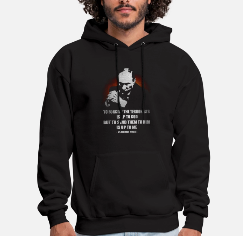 A Quote From Vladimir Putin In Fighting Isis Unisex Hoodie Hoodies Sweatshirts Aliexpress