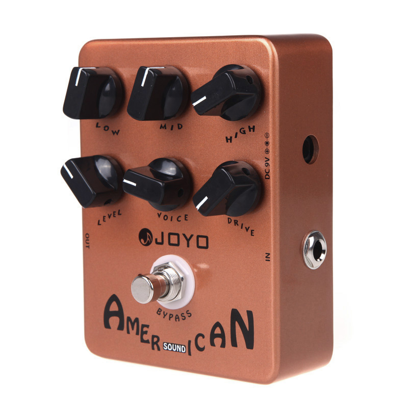 JOYO Electric Guitar Effect Pedal True Bypass Guitar Pedal Design American Sound Amp Simulator Guitar Effects Pedal Hot Sale
