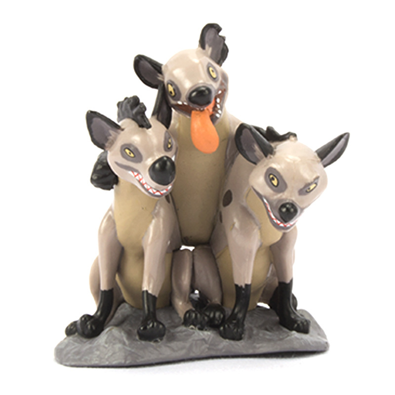Model-Decoration Animal-Figure Forest-Animals Lions King Family Gift Cute 9pcs Wild-Boar