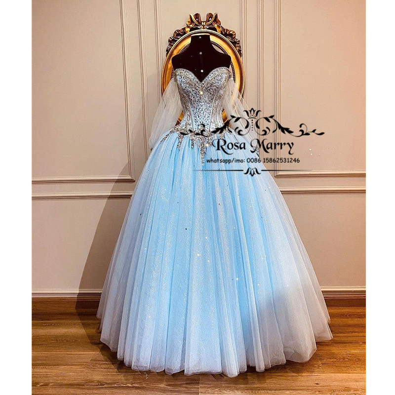 Luxury Sweet 15 Ball Gown Quinceanera Dresses 2020 Off Shoulder Masquerade Plus Size Sequined Long Sleeves Vestido De 15 Anos