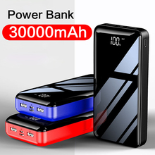 30000mAh Power bank for iphone 11 Xs 8 plus External Battery