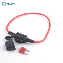 Embedded mini embedded sicherung halter 3A 5A 7,5 EINE 10A 15A 20A 25A 30A 35A 40A für autos, schiffe, motor häuser, motorräder, lkw