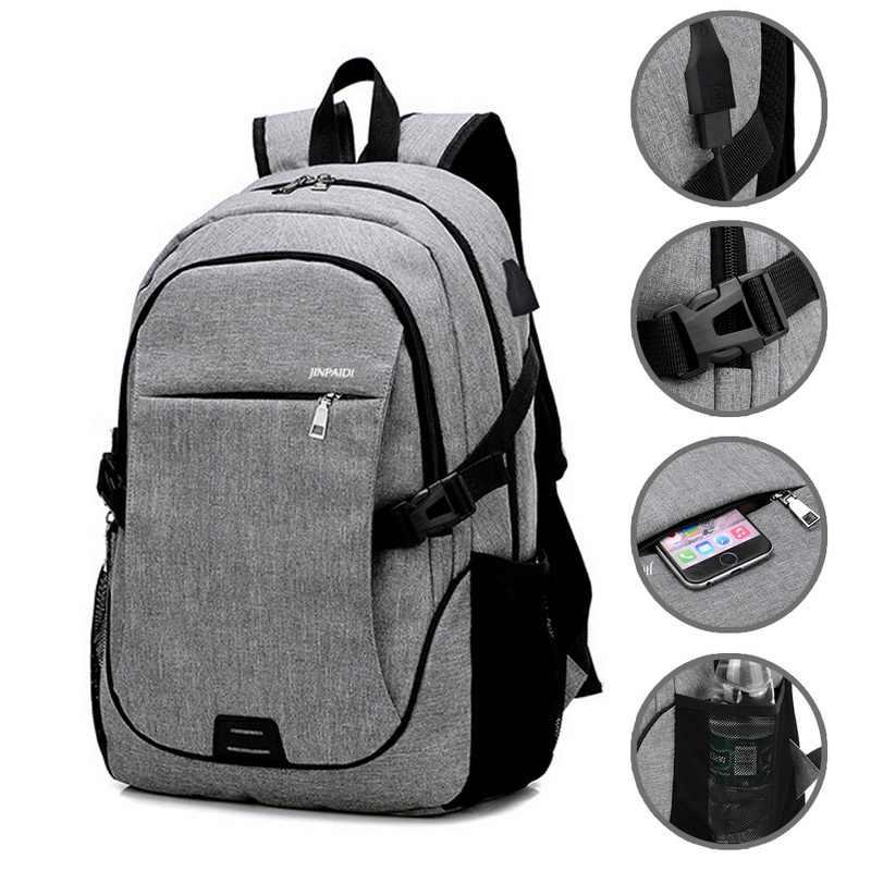 LOOZYKIT мужской рюкзак сумка бренд 15,6 дюймов ноутбук Mochila для мужчин водонепроницаемый рюкзак школьная сумка рюкзак 32*18*48 см