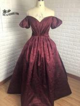 Speciale Gelegenheid Diner Party Gown Выпускной Платья Sukienki Na Studniowke V hals Print Prom Dresses 2019 Op Lijn XD 105
