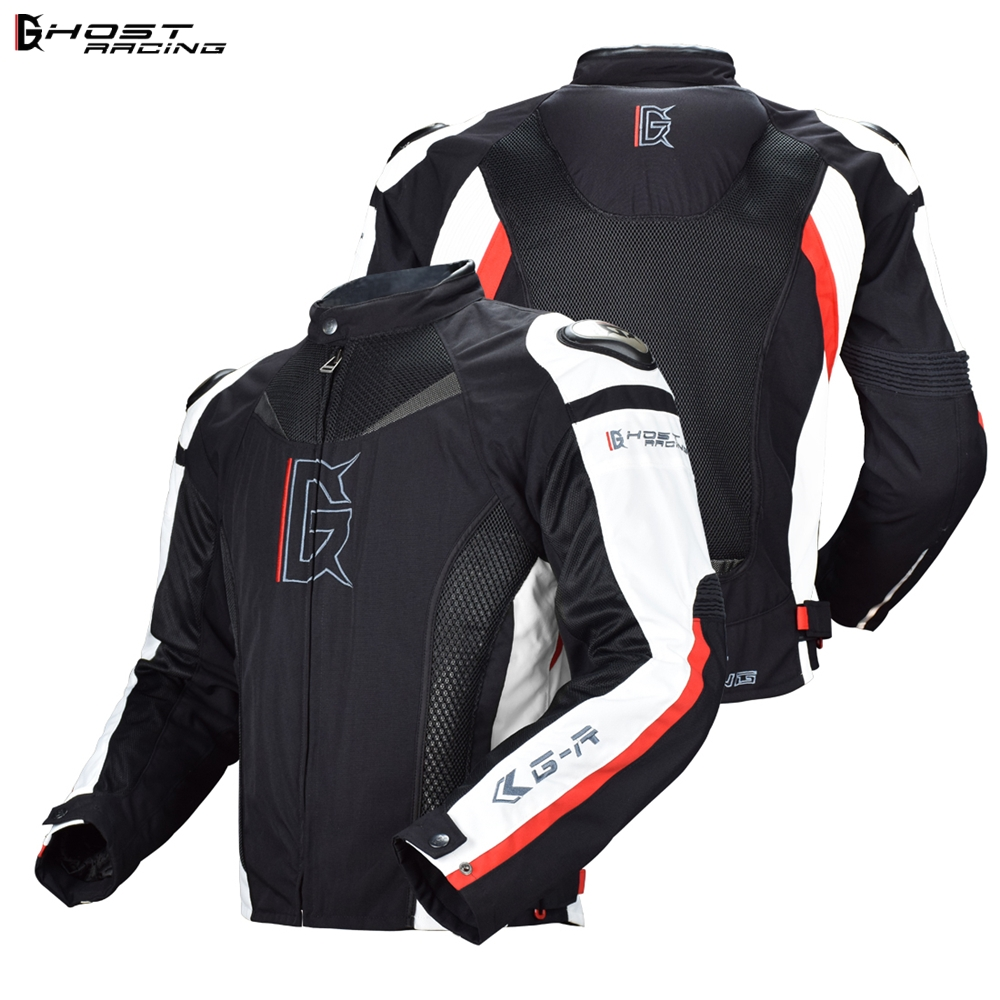 GHOST RACING Snowboard Jacket Men Full Body Protective Gear Armor Autumn Winter Moto Clothing Shoulder Elbow Back Protection