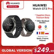 Stokta küresel sürüm HUAWEI izle GT 2 pro SmartWatch 14 gün pil ömrü GPS kablosuz şarj Kirin A1 GT2 pro