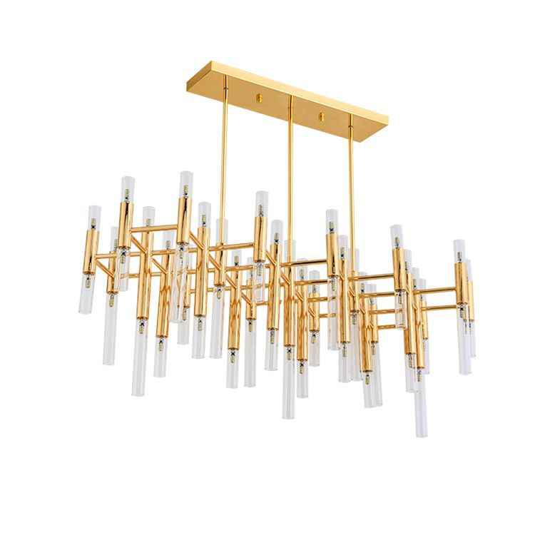 آخر-الحديثة الذهبي LED أضواء الثريا الشمال الفاخرة الحديد تركيبات الزجاج شنقا مصباح ل غرفة المعيشة مطعم غرفة نوم