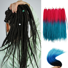 Box Braid Hair Synthetic Braiding Hair O