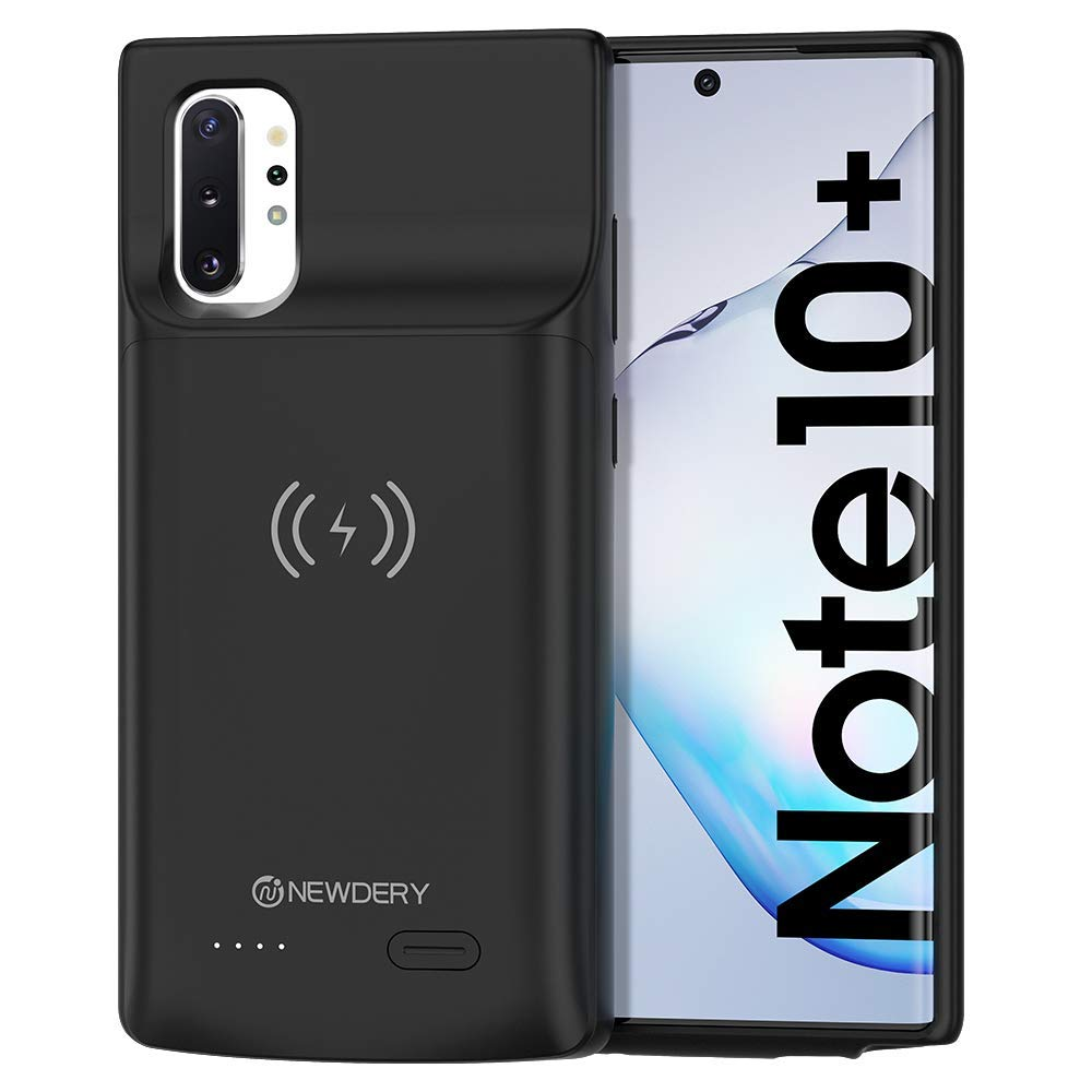 Wireless Battery Case For Samsung Galaxy Note 10 Note 10 + 5G Battery Case Qi Wireless Charging Case For Samsung Note 10 5200mAh