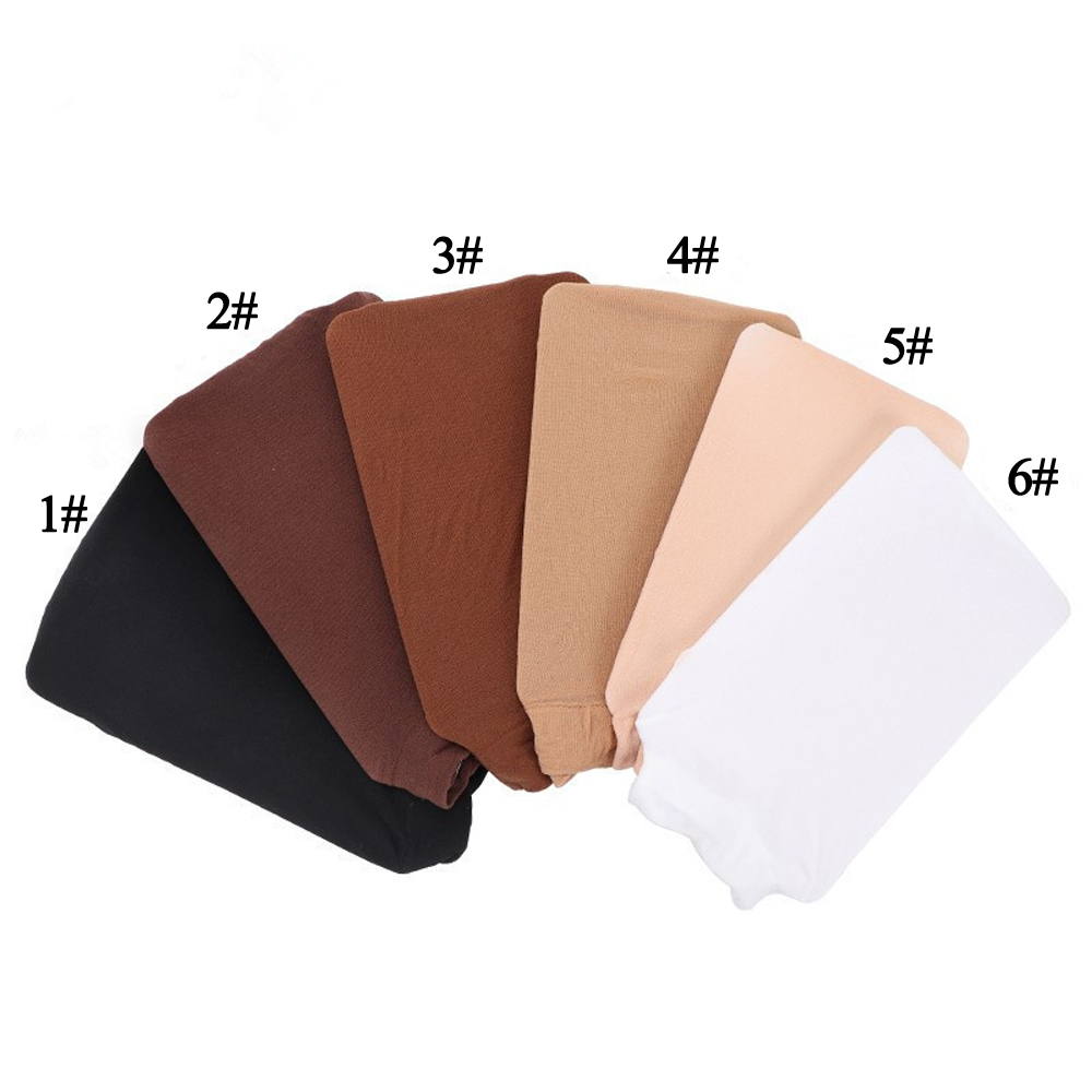 12 Pieces (6pack) Wig Cap HairNet For Wigs Black Brown Blonde Color Weaving Cap for Wearing Wigs Snood Nylon Mesh Cap