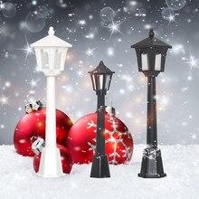 6/12 criativo árvore de natal pingente simulação luz de rua modelo luz natal festa decoração para casa ano novo decoração