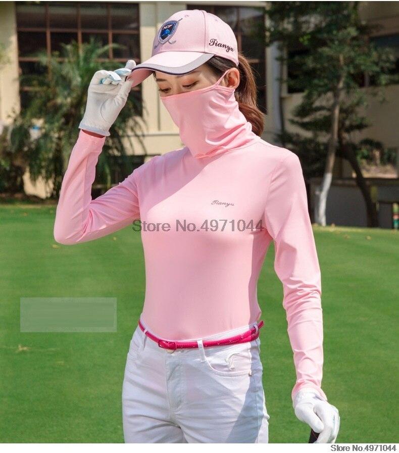 2020 atualizar feminino golf t camisa protetor