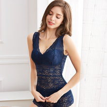Women Lace Flower Tank Top Deep V-neck Sexy Lace Floral Cami Bralette Crochet Vest Crop Top Ladies Camisole navy blue velvet square neck lace hem cami top