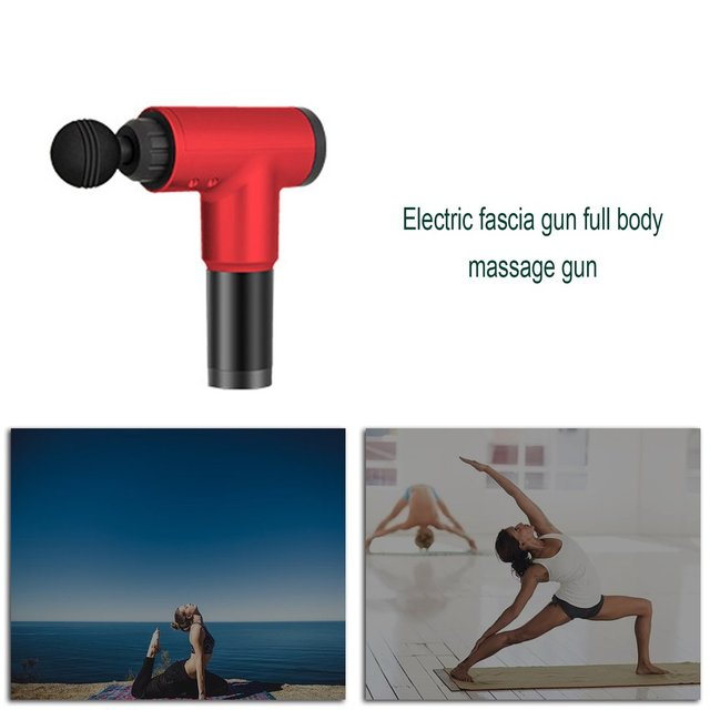 Physiotherapy Muscle Massage Gun Health Massage Deep Relaxation Device High Frequency Vibration Impact Fascia Gun 2