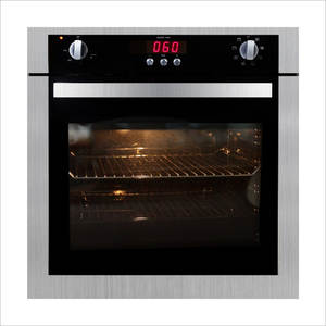 Oven Electric with Rotating-Fork R012 Wind-Grilled Embedded Touch-Screen Home New