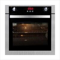 R012 novo forno de tela sensível ao toque casa embutido forno elétrico vento grelhado com garfo rotativo|Fornos embutidos|   -
